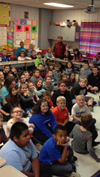 Author George Ella Lyon visits HCES