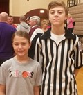 Hickman County Siblings at it Again During Hoop Shoot Competition