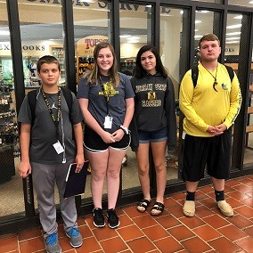 Four HCHS Students Attend ACT Boot Camp at MSU