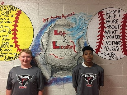 Scotty and Shajuanta--August Students of the Month