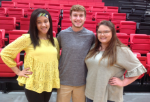 Three students were selected to participate in the CHA program at MSU.
