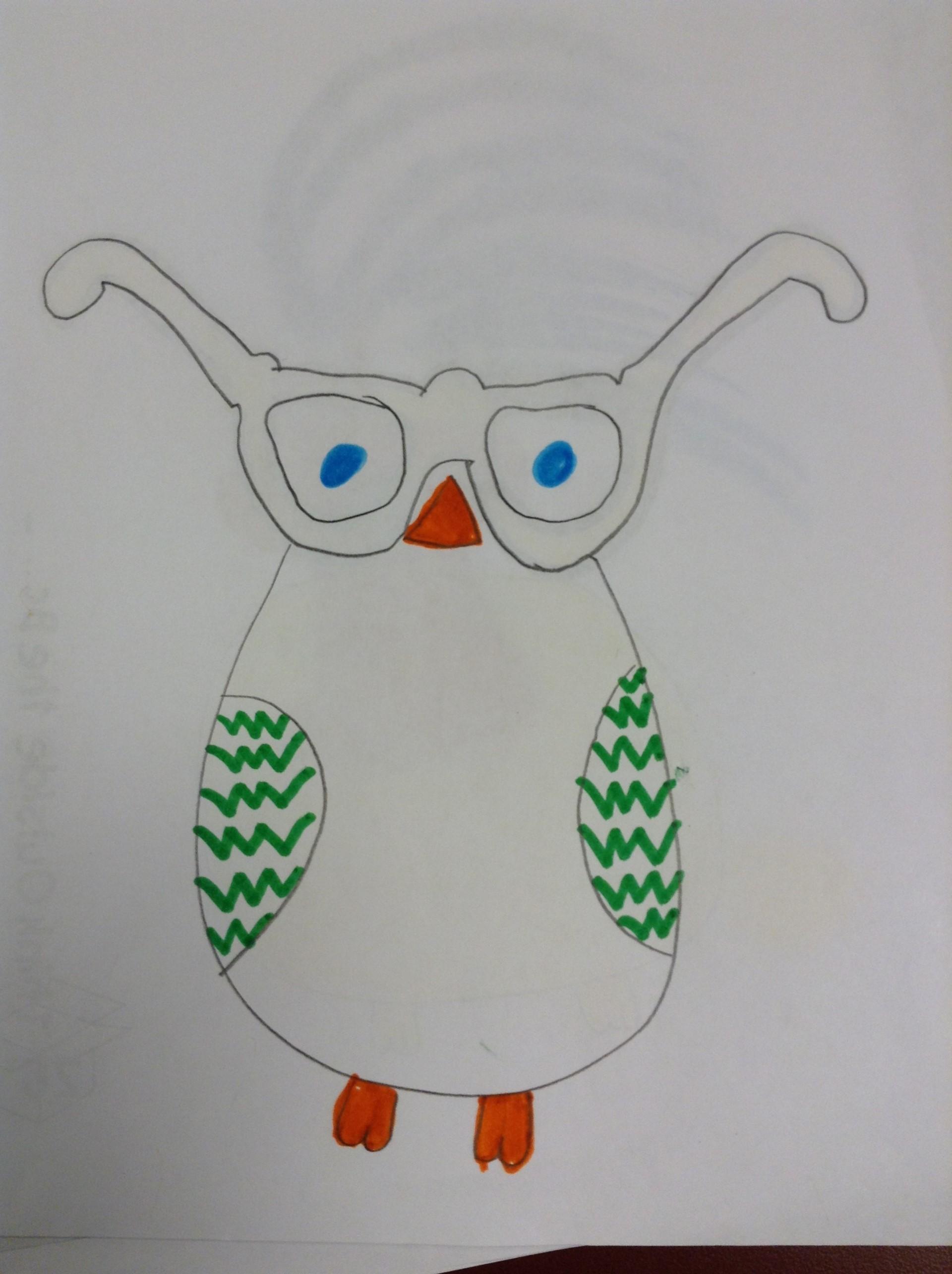 Justice M.'s owl