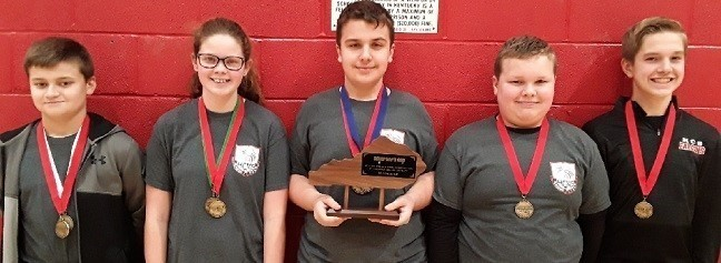 2019 Middle School Governor's Cup District Runners Up