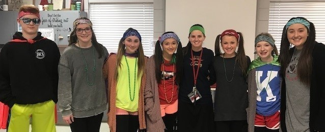Wacky Wednesday with the MS Lighthouse Team