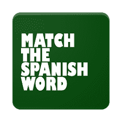 spanish word match